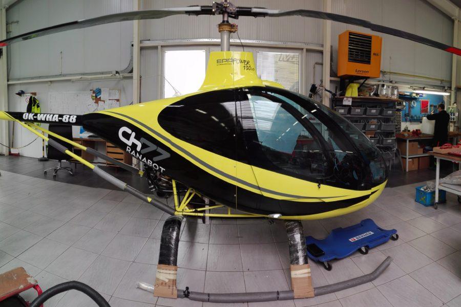 Heli CH77 Ranabot žlutá