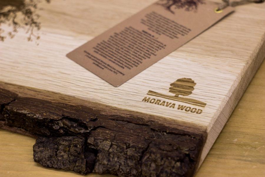 Gravírovaná prkénka Morava Wood